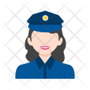 Police Woman Avatar Icon