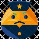 Police Officer Emoji Icon