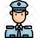 Police Policeman Avatar Icon