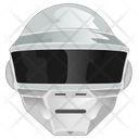 Police Robot Head Icon