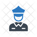 Police Guard Safety Icon