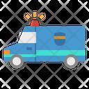 Police Van Fbi Icon