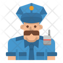 Police Policemen Guard Icon