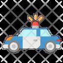 Police Car Transportation Icon