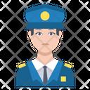 Police Guard Male Icon