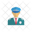Police Guard Officer Icon