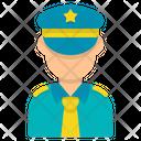 Police Policeman Guard Icon