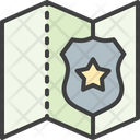 Police Police Station Map Icon