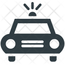 Police Sedan Car Icon