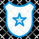 Police Badge Grade Icon