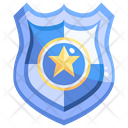 Police Badge Star Badge Badge Icon