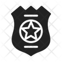 Police Cop Badge Icon