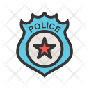 Badge Police Icon
