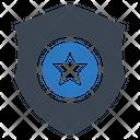 Police Badge Sheriff Icon