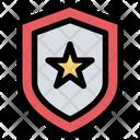 Police Badge Police Star Icon