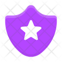 Police Badge Shield Protection Icon