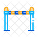 Police Barrier Icon