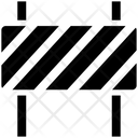 Police Barrier Security Check Road Barrier Icon