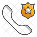 Ipolice Call Police Call Emergency Call Icon