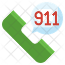 Police Call Emergency Call Communications Icon