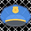 Cap Policeman Law Icon