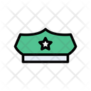 Police Cap Officer Icon