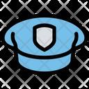 Police Cap Police Hat Cap Icon