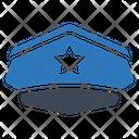 Police Cap Police Hat Uniform Icon