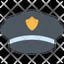 Police Cap Officer Cap Hat Icon