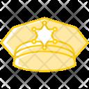 Police Cap Hat Icon
