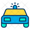 Car Police Police Siren Icon