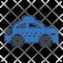 Policecar Taxi Transport Icon