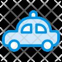 Police Car Automobile Icon