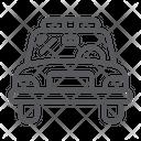 Police Car Vehicle Icon