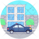 Police Car Cop Car Police Vehicle Icon