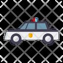 Police Car Car Crime Icon