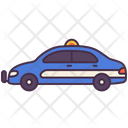 Transport Vehicle Police Car Icon