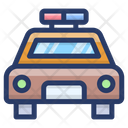 Police Car Political Car Autonomous Car Icon