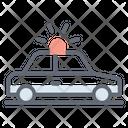 Police Car Force Car Cop Icon