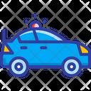 Police Car Cop Emergency Icon
