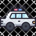 Car Police Vehicle Icon