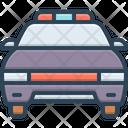 Police Car Vehicle Car Icon