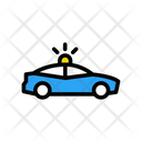 Police Car Siren Icon
