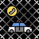 Police Car Color Icon
