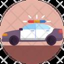 Emergency Car Police Car Police Vehicle Icon