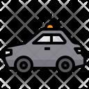 Police Car Security Patrol Icon