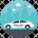 Car Police Government Icon