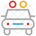 Police Security Vehicle Icon