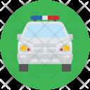 Police Jeep Cops Icon
