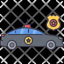 Police Car Flasher Icon